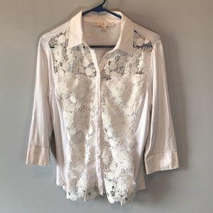 Boston Proper Shirt Blouse Top